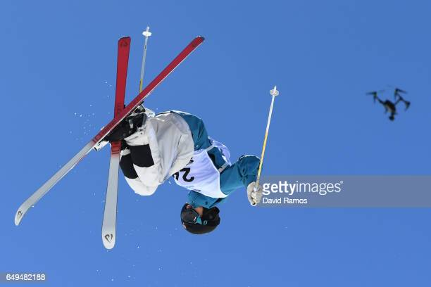 Tevje Lie Andersen of Norway competes in the Men's Moguls qualification on day one of the FIS Freestyle Ski Snowboard World Championships 2017 on...