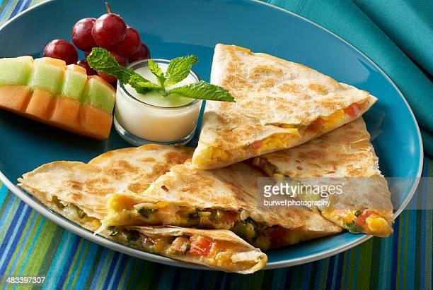 Tex Mex Breakfast Quesadilla