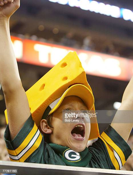 Texans and Packers fans were in full force at Reliant Stadium November 21 2004 in Houston Texas