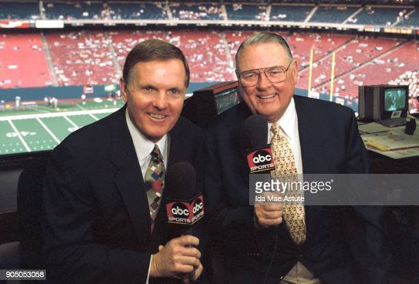 Texas A M vs Florida State Bob Griese Keith Jackson ABC Sports Commentators 9/1/98