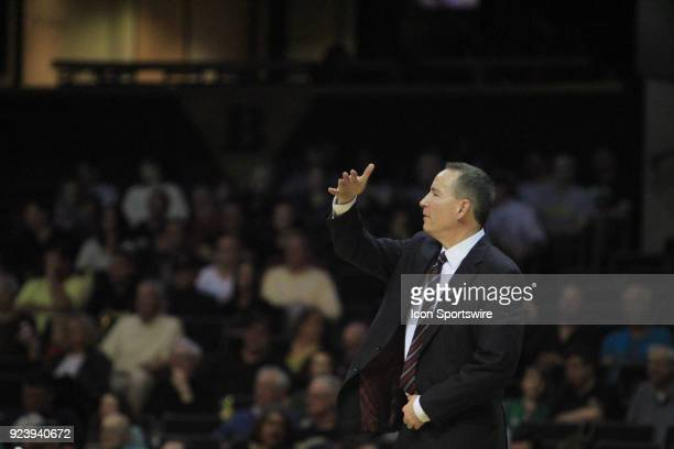 Texas AM Aggies head coach Billy Kennedy directs his team in the second half of a Southeastern Conference game between the Vanderbilt Commodores and...