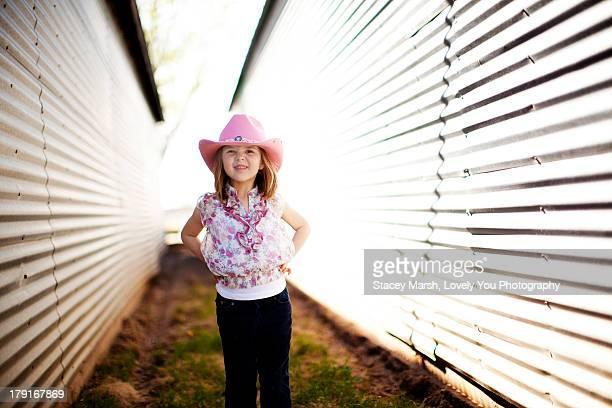 Texas Cowgirl 5 Year Old Girl