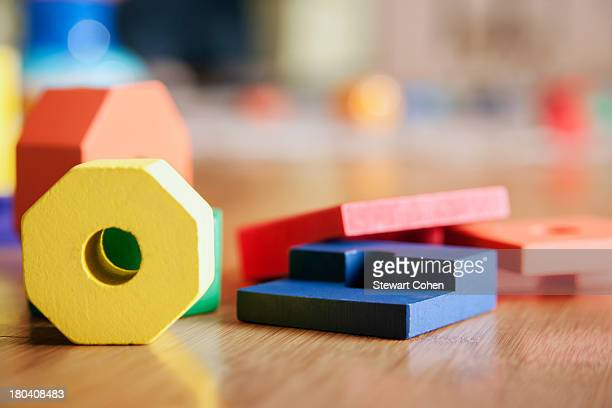 USA, Texas, Dallas, Children's toys on floor