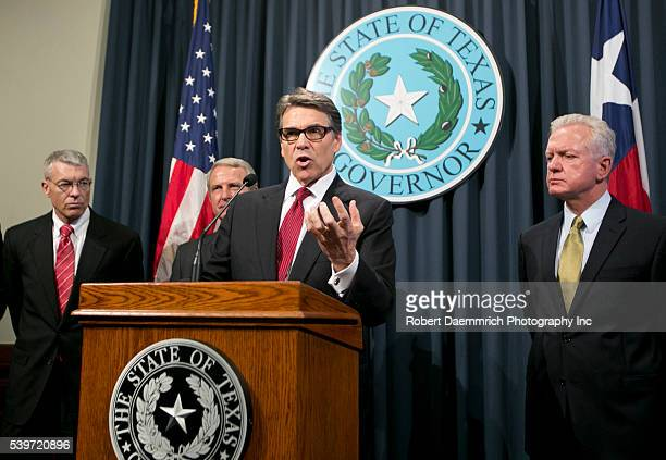 Texas Gov Rick Perry gives update on the state response and prevention efforts against Ebola He is joined by Chief Nim Kidd Col Steve McCraw Dr Kyle...