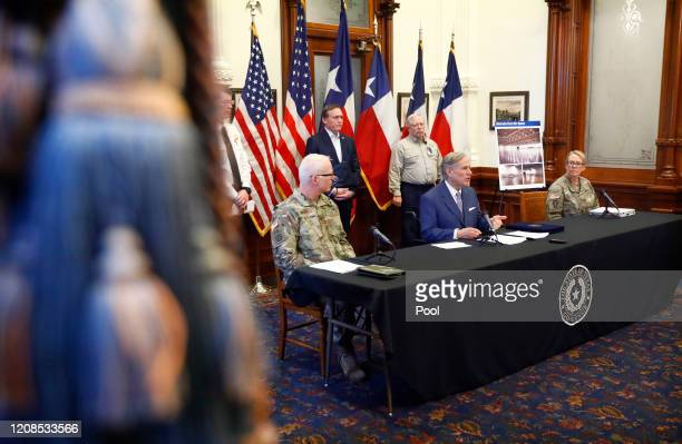 Texas Governor Greg Abbott announced at the State Capitol the US Army Corps of Engineers and the state are putting up a 250bed field hospital at the...