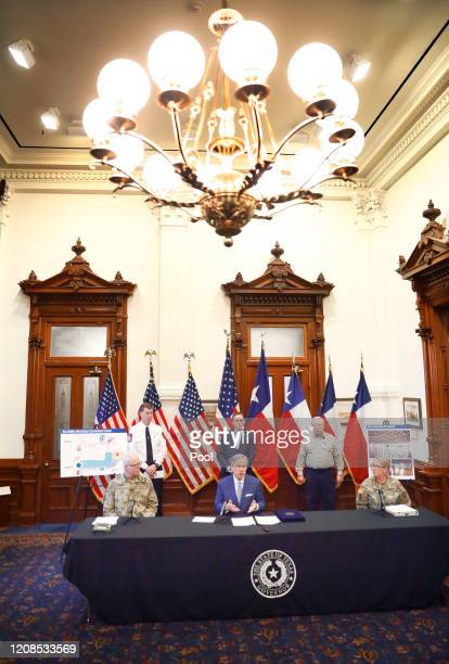 Texas Governor Greg Abbott announced at the State Capitol the US Army Corps of Engineers and the state are putting up a 250-bed field hospital at the...