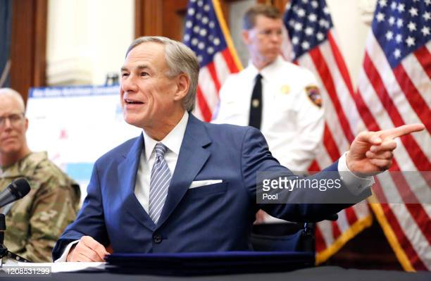 Texas Governor Greg Abbott announced new executive orders listing the US Army Corps of Engineers and the state are putting up a 250bed field hospital...