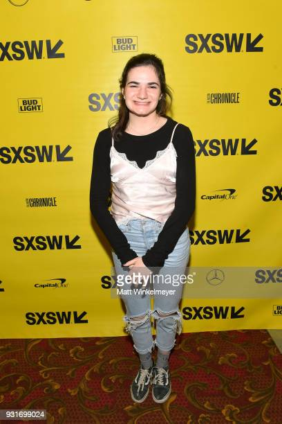 Texas High School Shorts Award winner for The Night I Lost My Favorite Jenna Krumerman attends the SXSW Film Awards Show 2018 SXSW Conference and...