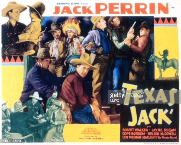 Texas Jack poster Jack Perrin Cope Borden 1935