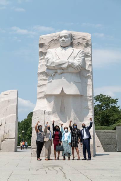 DC: Texas Democrats And Civil Rights Leaders Meet With Legislators In Washington DC