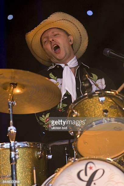 Texas Lightning; Musikgruppe, Countrymusik; D; Auftritt Olli Dittrich im Stadtpark Hamburg - 09.2006