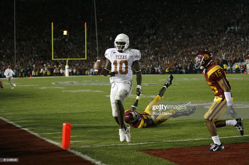 NCAA Football - The Rose Bowl Game Presented by Citi - USC vs Texas : News Photo