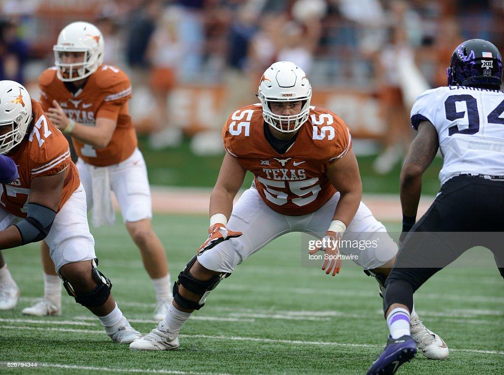 NCAA FOOTBALL: NOV 25 TCU at Texas : News Photo