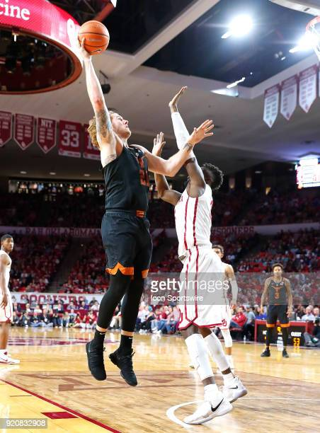 Texas Longhorns Forward Dylan Osetkowski during a college basketball game between the Oklahoma Sooners and the Texas Longhorns on February 17 at the...