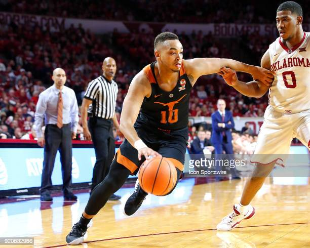 Texas Longhorns Guard Eric Davis during a college basketball game between the Oklahoma Sooners and the Texas Longhorns on February 17 at the Lloyd...