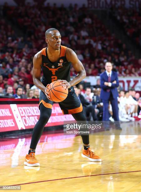 Texas Longhorns Guard Matt Coleman during a college basketball game between the Oklahoma Sooners and the Texas Longhorns on February 17 at the Lloyd...