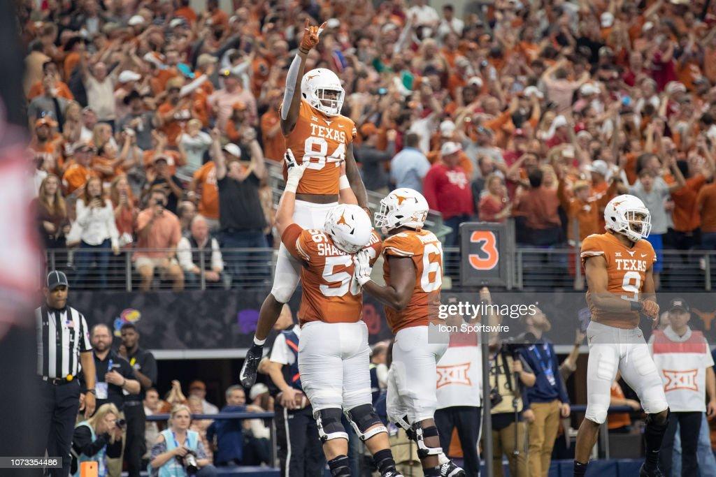 COLLEGE FOOTBALL: DEC 01 Big 12 Championship Game - Oklahoma v Texas : News Photo