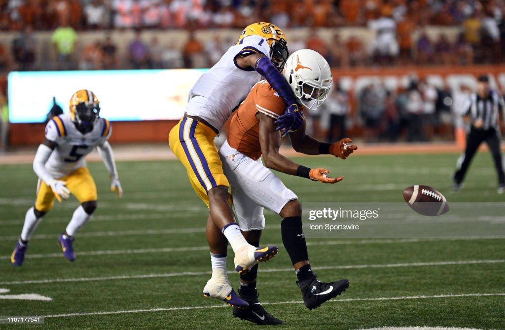 COLLEGE FOOTBALL: SEP 07 LSU at Texas : News Photo