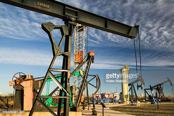 usa, texas, midland, permian basin petroleum museum, machinery - midland stock pictures, royalty-free photos & images