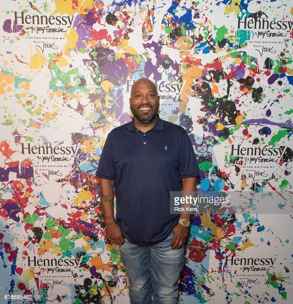 Texas native Bun B attends Hennessy VS Limited Edition JonOne launch party at Native Hostel on July 18 2017 in Austin Texas The Limited Edition...