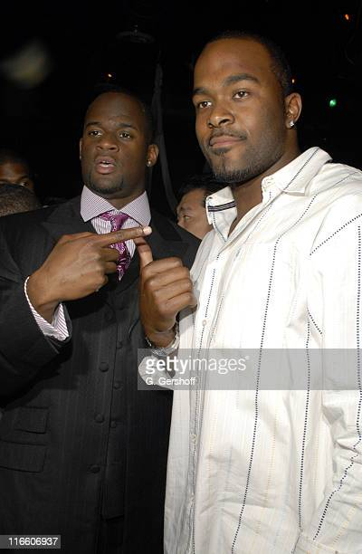 Texas Quarterback Vince Young and Draft pick Mario Williams from NC State at the Hummer and ESPN The Mag Present The Official 3rd Annual PreDraft...