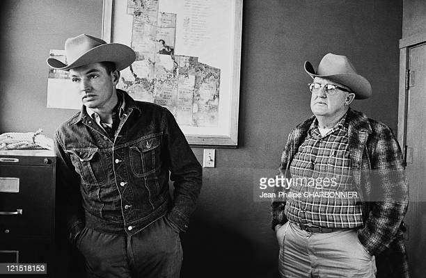 Texas Ranch Keeper And Veterinary In 1962