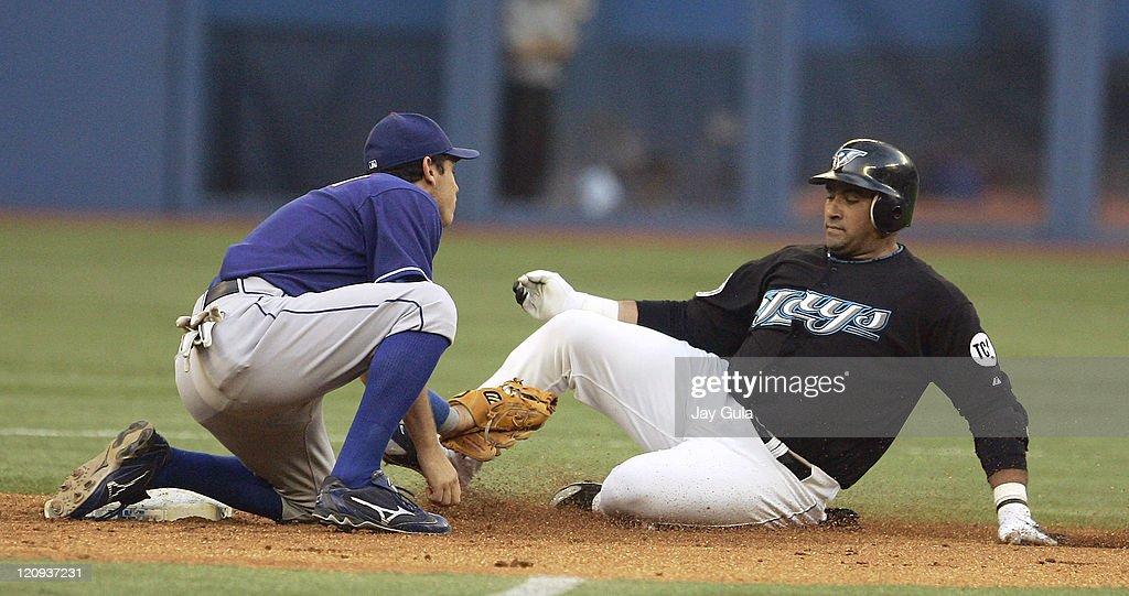 Texas Rangers vs Toronto Blue Jays - July 18, 2006