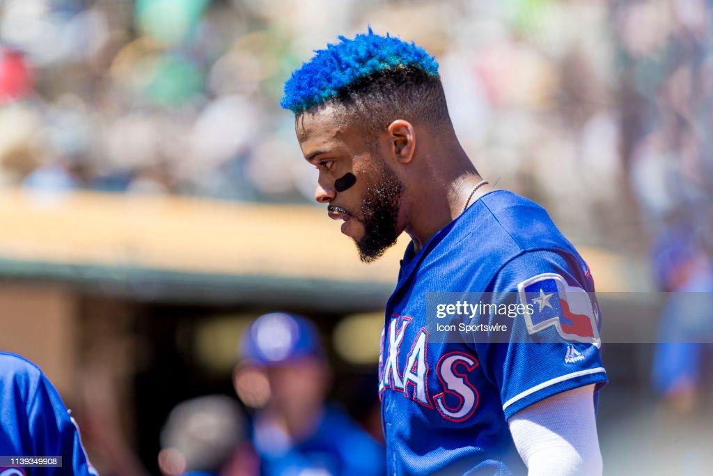 MLB: APR 24 Rangers at Athletics : News Photo