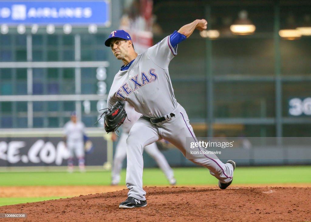 MLB: JUL 27 Rangers at Astros : ニュース写真