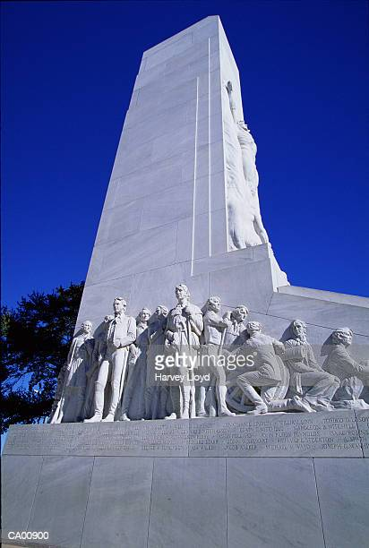 USA, Texas, San Antonio, Alamo Monument, low angle view