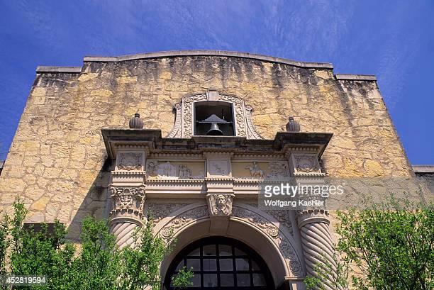 USA Texas San Antonio The Alamo Museum Detail