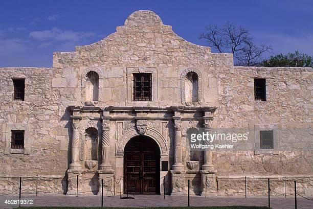 USA Texas San Antonio The Alamo Shrine