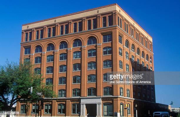 Texas School Book Depository Building site of JFK assassination Dallas TX