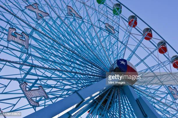 texas star ferris wheel - dallas stock pictures, royalty-free photos & images
