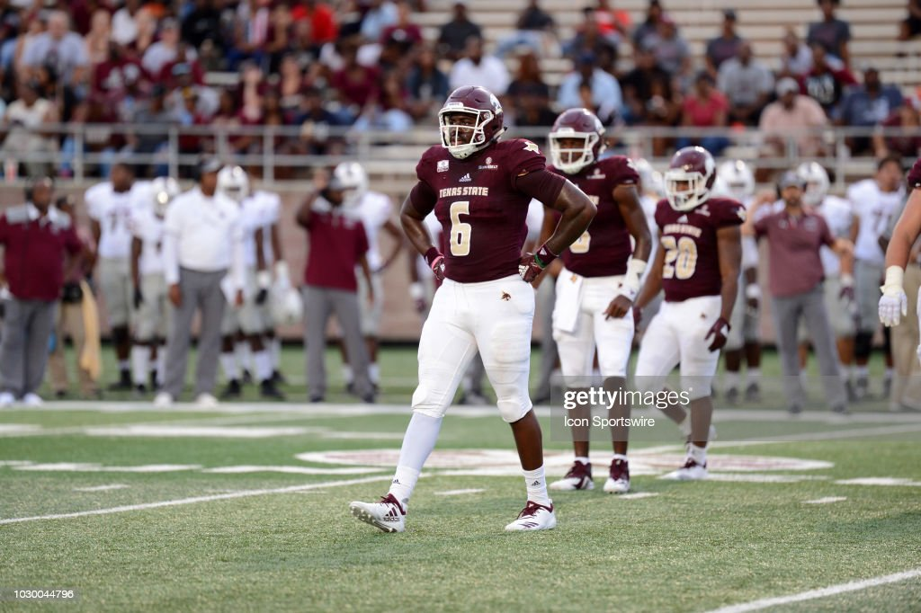 COLLEGE FOOTBALL: SEP 08 Texas Southern at Texas State : News Photo
