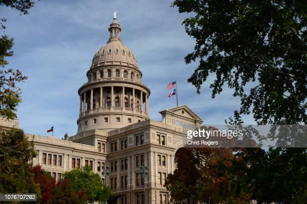 texas state capitol, austin, texas - 州議会議事堂 ストックフォトと画像