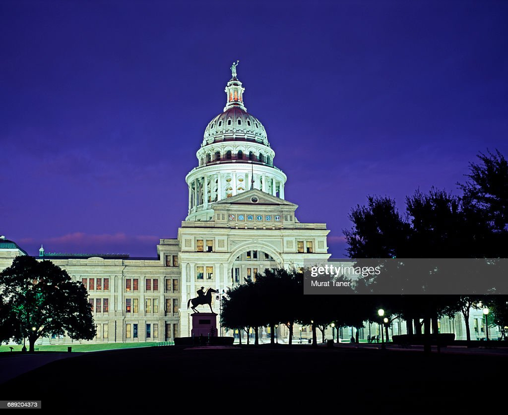 Texas State Capitol Building : Stock Photo
