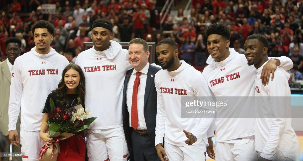 COLLEGE BASKETBALL: MAR 03 TCU at Texas Tech : News Photo