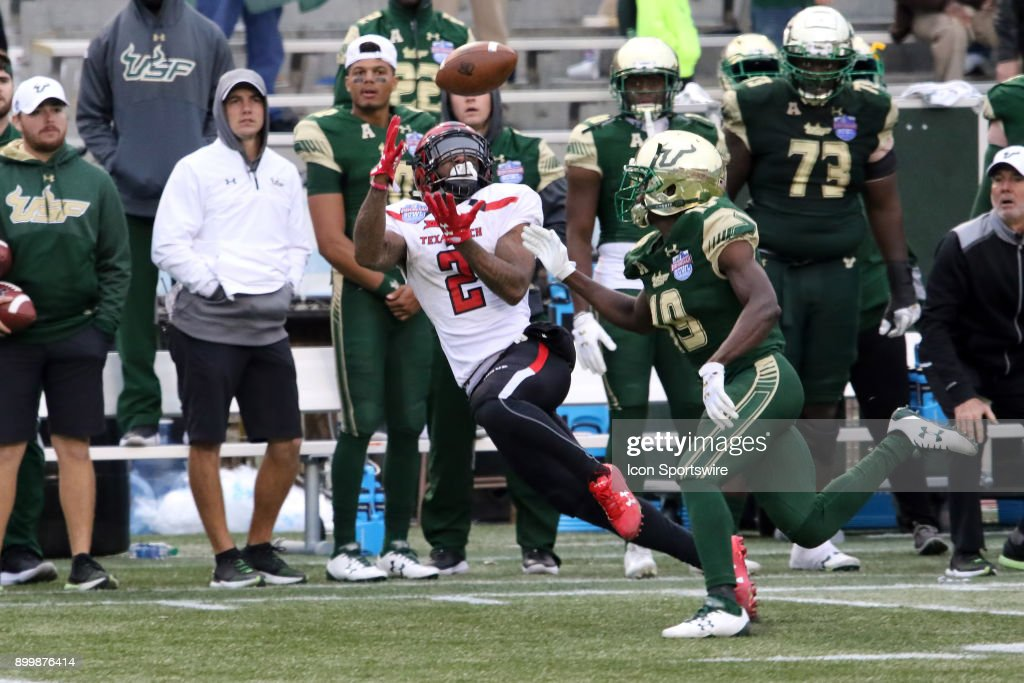 COLLEGE FOOTBALL: DEC 23 Birmingham Bowl - Texas Tech v South Florida : News Photo