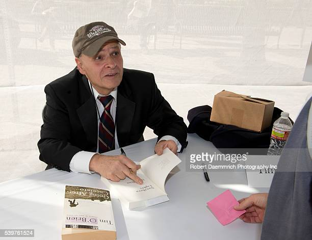 Texas writer Tim O'Brien talks at the Texas Book Festival in Austin about his latest work The Things They Carried about experiences in the Vietnam...
