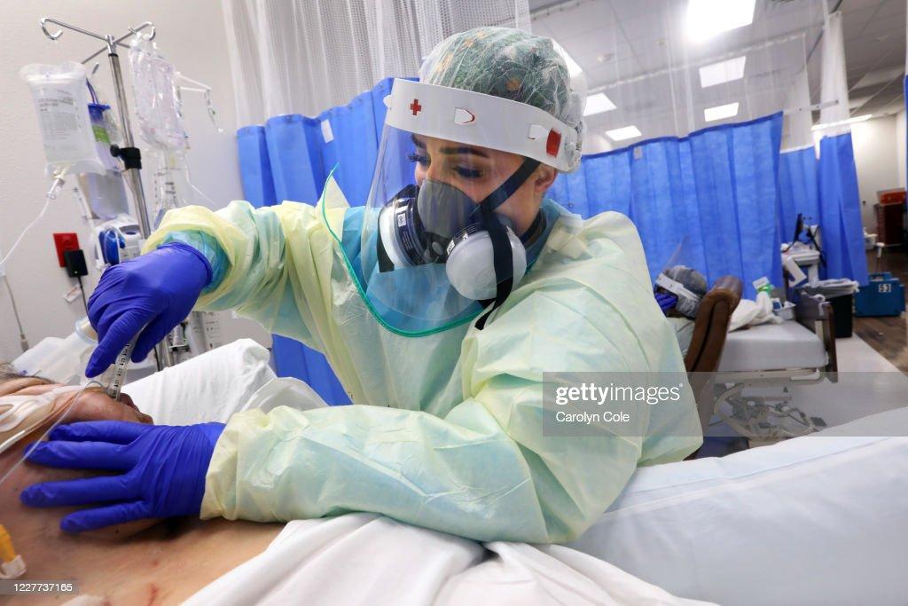 McAllen, Texas coronavirus COVID-19 Los Angeles Times photographer Carolyn Cole : News Photo