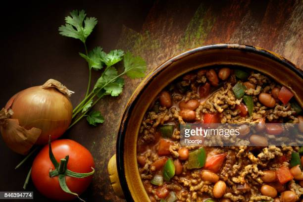 TexMex Food: Chili Con Carne Still Life