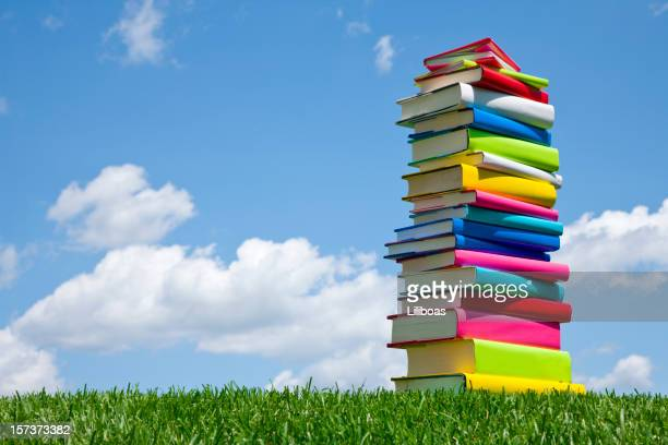 Text Books in the Grass (XXL)