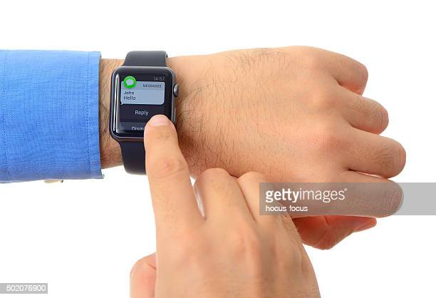 Text message on Apple Watch