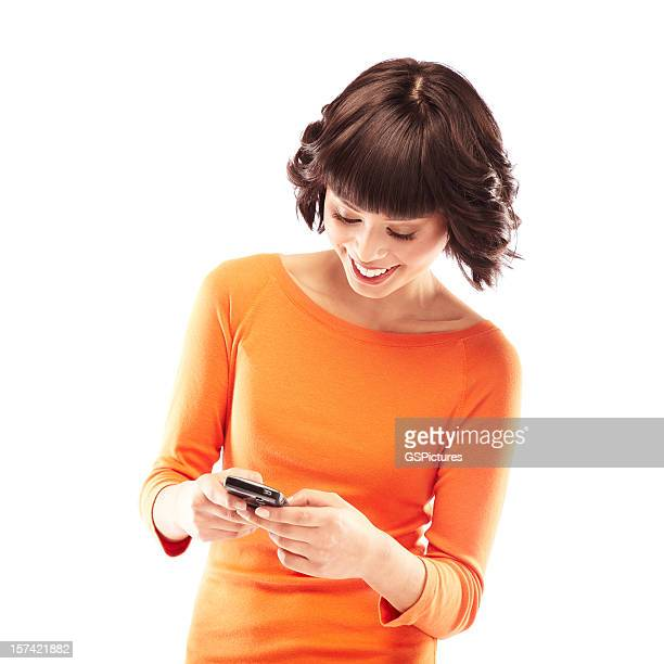 text messaging - waist up stock pictures, royalty-free photos & images