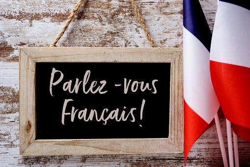 text parlez-vous francais? do you speak French? 842776410