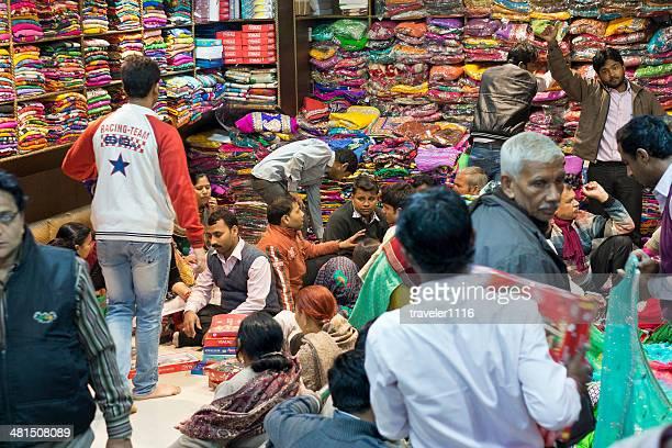 Textile Buying Old Delhi, India