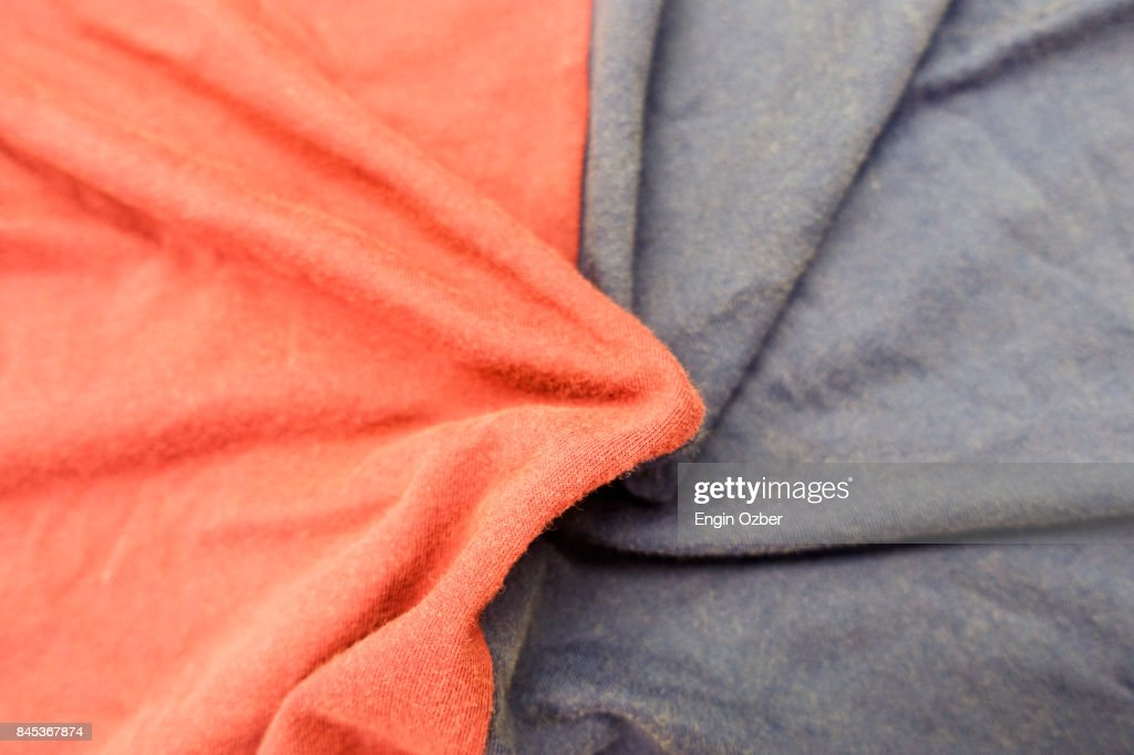 Textile Fabric Polyester And Cotton Fabric Background Stock Photo
