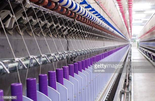 textile factory - loom stock pictures, royalty-free photos & images