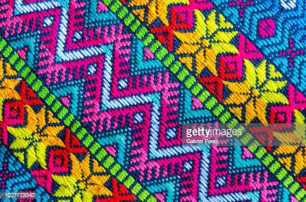 a textile from mexico - mexiko stock-fotos und bilder